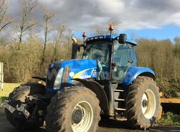 Location Tracteur agricole NEW HOLLAND t8020 43,75 €