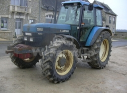 Tracteur agricole New Holland 7840 SLE 11,25 €