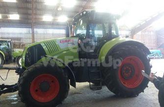 Location  Tracteur agricole Claas Axion 810 190 €