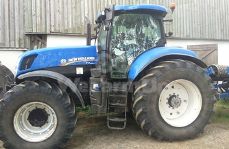 Location  Tracteur agricole New Holland T7.250 220€
