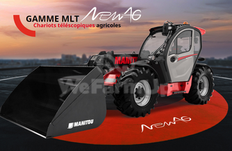Location  Telescopique MANITOU MLT 737 NEW AG 300 €