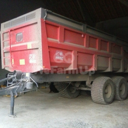 Remorque à grains Demarest 18 tonnes 160 €