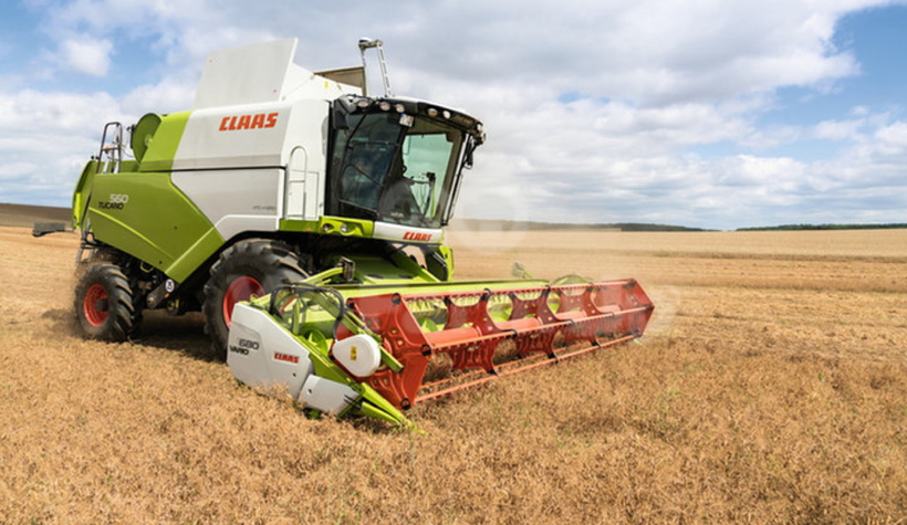 Projet d'achat - Moissonneuse Claas Tucano 430 0