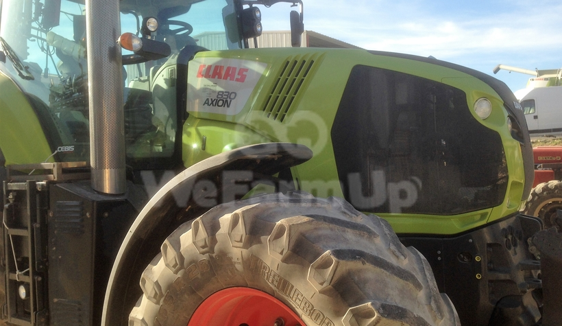 Tracteur agricole class axion 830 280€